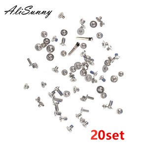 Image 1 - AliSunny 20set Full Screw Set  for iPhone XR XS XSmax XSM Complete Screws Inner Kits  Replacement Parts
