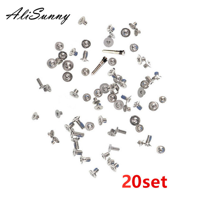 AliSunny 20set Full Screw Set  for iPhone XR XS XSmax XSM Complete Screws Inner Kits  Replacement Parts
