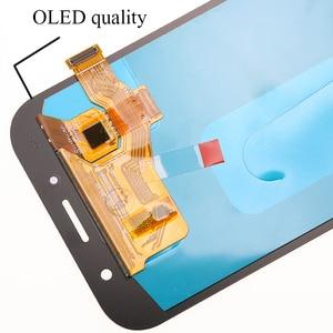 Image 3 - Оригинальный дисплей 5,7 для Samsung Galaxy A7 2017 ЖК дисплей A720M A720Y A720F A720 сенсорный экран дигитайзер в сборе запасные части
