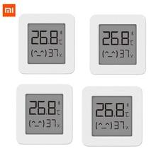 Najnowszy XIAOMI Mijia kompatybilny z Bluetooth termometr 2 bezprzewodowy inteligentny elektryczny termometr cyfrowy higrometr praca dla aplikacji Mijia