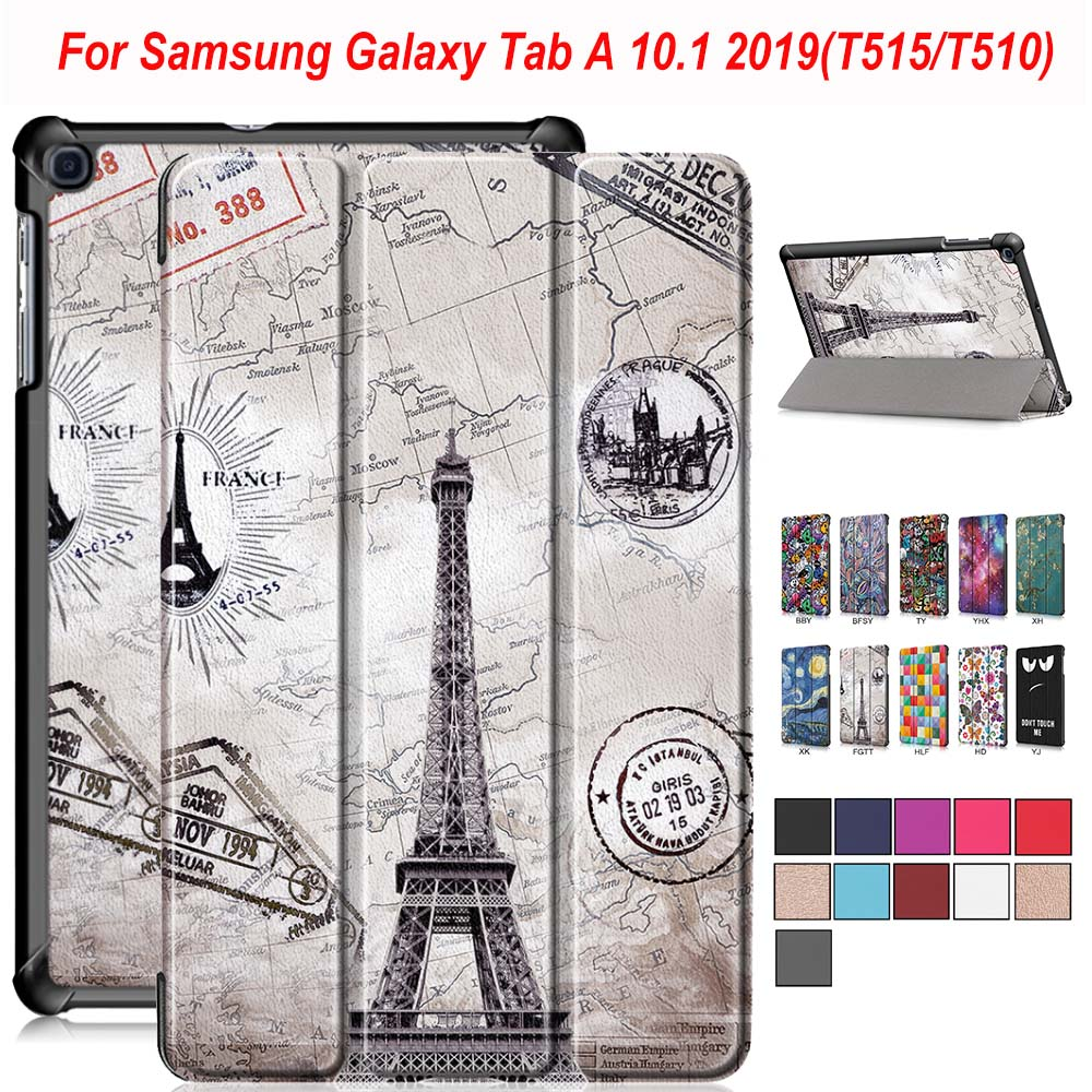 <font><b>Case</b></font> for Samsung Galaxy Tab A 2019 SM-<font><b>T510</b></font> SM-T515 <font><b>T510</b></font> Tablet Cover Stand <font><b>Case</b></font> for Tab A 10.1'' 2019 Tablet <font><b>Case</b></font> Adjustable image