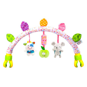 Image 4 - babies musical mobile for crib plush toys arc on the bed toddlers rattle newborn baby boy girl toy for stroller kids 0 12 months