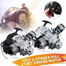 Filtre à Air de carburateur de Carb de moteur de moteur de 49cc 2 temps pour le Mini vtt de saleté de Quad de fosse de poche pour le Buggy