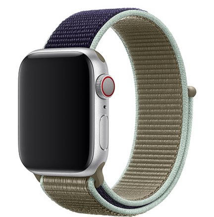 Light Reflective bracelet Sport Loop band for Apple Watch 44mm 42mm 40mm 38mm Nylon Watch Strap For iwatch series 5 4 3 2 1 | Fotoflaco.net