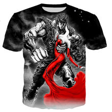 Fist of the North Star Kenshiro Men/women New Fashion Cool 3D Printed T-shirts Casual Style Tshirt Streetwear Tops Dropshipping