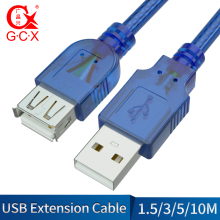 GCX USB 2.0 Cable Male to Female Extender Data Cord Wire for Car Reader Mouse Computer Extension 1.5m 3m 5m 10m