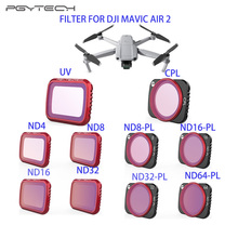Professional UV CPL Filter ND8+ND16+ND32+ND64 ND-PL Filter Kit Optical Glass Lens Filter For DJI Mavic Air 2 Drone Accessories