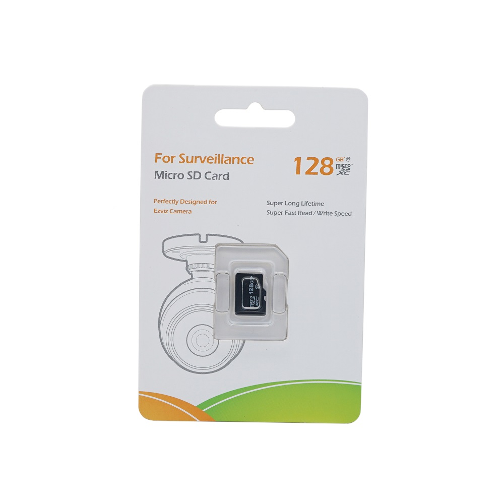 Original EZVIZ 128GB Class 10 Micro SD Card , TF Card For Surveillance, Perfectly Designed For HIK EZ Camera