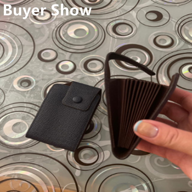 Leather Wallet ID Credit Card Pocket Organizer Money  5