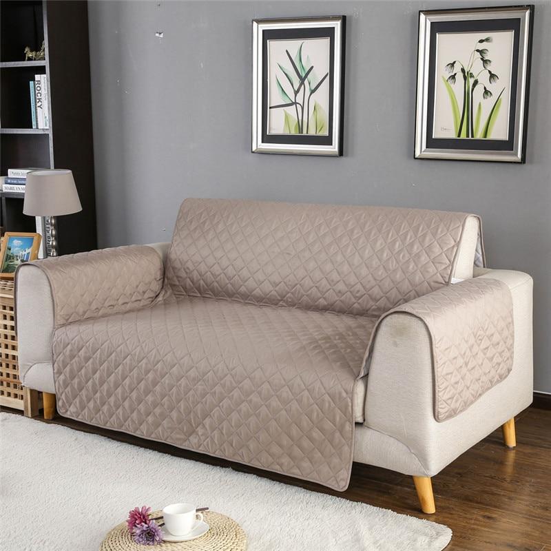 1/2/3 fundas de asiento para sofá de Mascota para sala de estar, cubierta para sofá, silla, manta impermeable, Protector para muebles, fundas antideslizantes para reposabrazos
