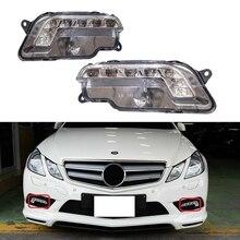 Левый и правый дневные ходовые огни светильник Светодиодный драйвер для Mercedes W212 E300 E350 E500 E550 09-13 2128200756 2128200856