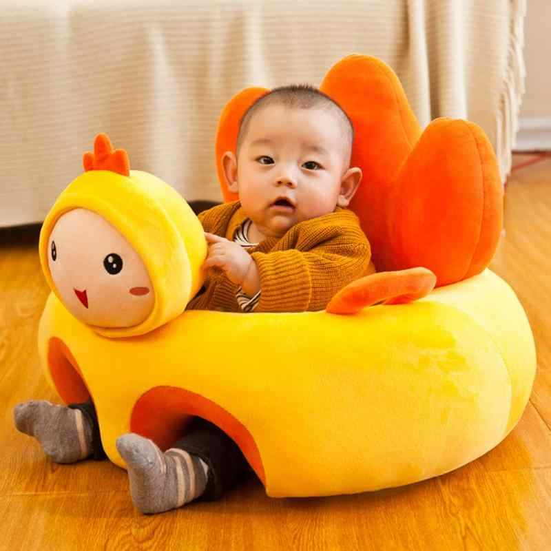 Baby Seats Sofa Support Seat Baby Plush Support Chair Learning To Sit Soft Plush Toys Travel cartoon Seat Without Fillers