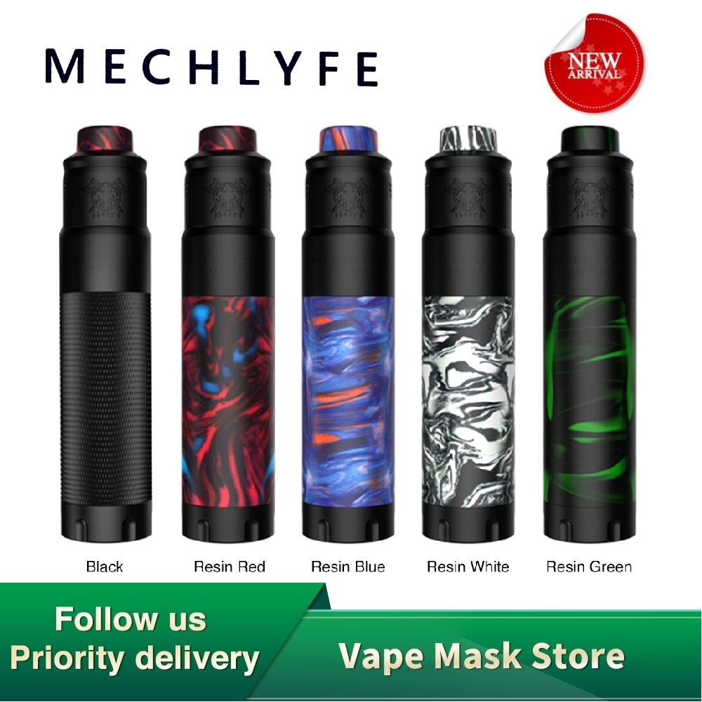 Original MECHLYFE Arcless Slatra Competition Mech Kit With Arcless MOD & Slatra RDA Fit 20700/21700/18650 Battery