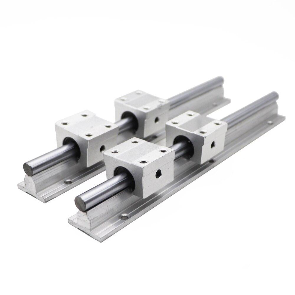 SBR10 10mm Linear Rail Length 300mm 400mm 500mm 600mm 700mm 800mm Linear Guide With SBR10UU Linear Block Cnc Part