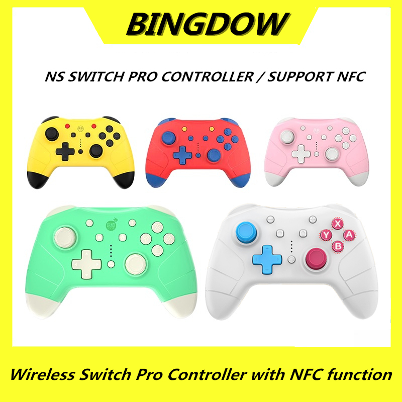 Animal Crossing Controller For Nintend Switch Pro Controller with NFC Wireless Game Joystick Gamepad NS Pro Switch Accessories