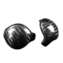 Углеродное волокно чехол для рычага переключения передач наклейка интерьер для Ford Mustang