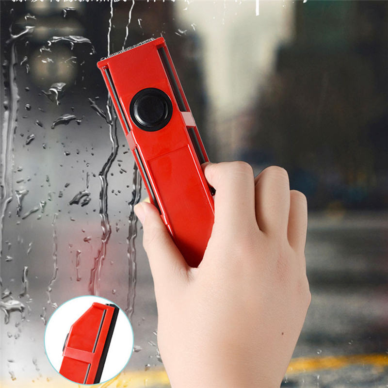 Handheld Magnetic Window Cleaner Portable Wipe Glass Cleaning Tools Household Glass Wiper for Double Side Window Cleaning Brush