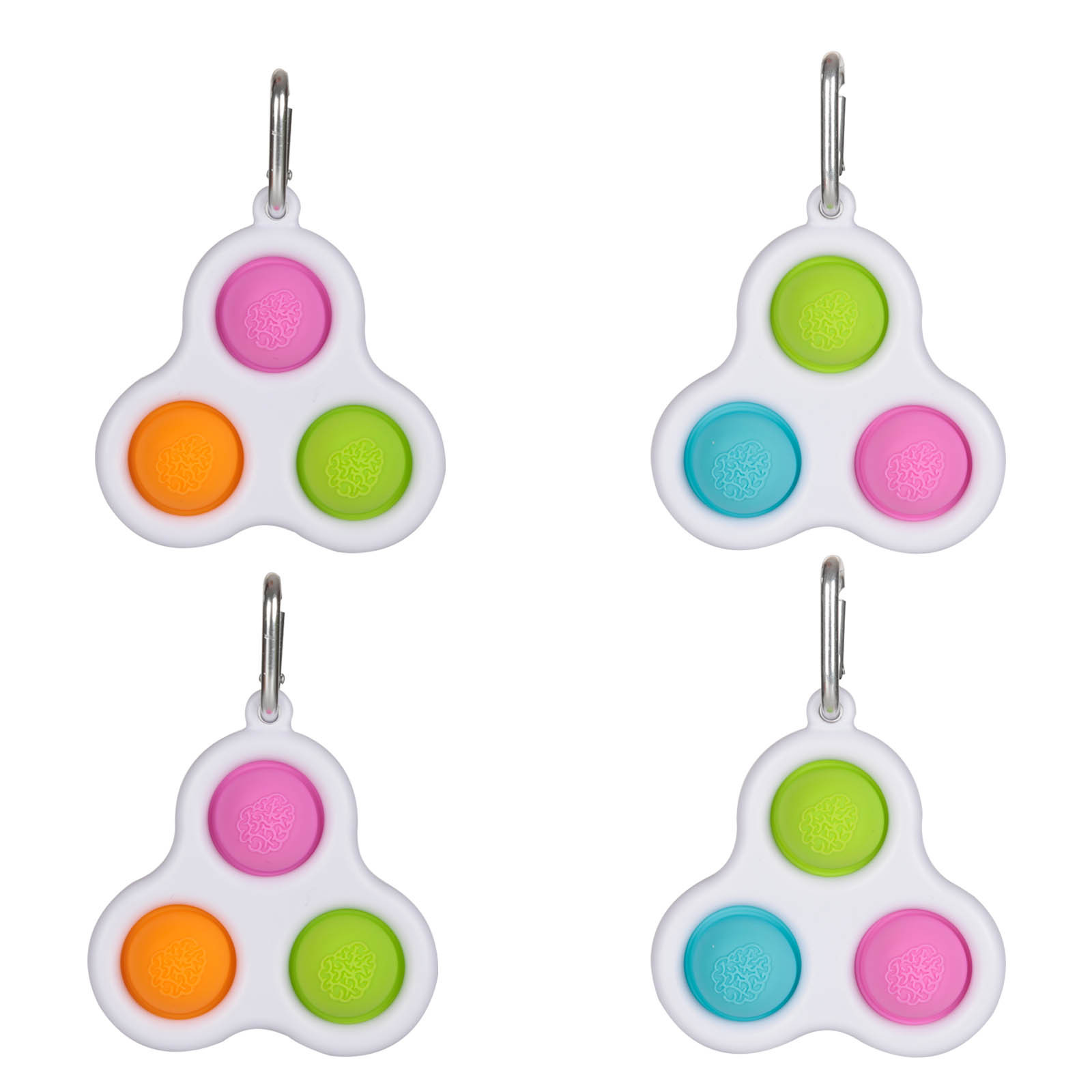 Montessori Fidget Dimple Simple Fidget Toys Fat Brain Toys Push Stress Relief Hand Toys img2