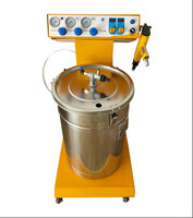 Portable Powder Paint Experiment System Electrostatic Powder Coating machine powder coating test gun