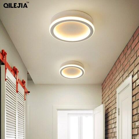 novo acrilico quadrado redonda lampada lustres para sala de estar quarto casa ac85 265v moderno
