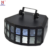 DJ Light RGBW 4IN1 Double Butterfly Light Portable Mini Led Stage Light Beam Dmx Laser Projector Light