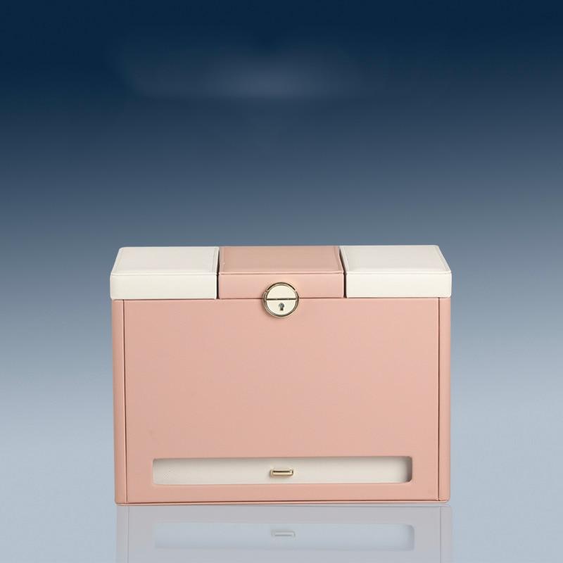 Multi layer Household Simple Large Jewelry Receiving Box Large Capacity Multifunctional European Princess Original Dressing Case