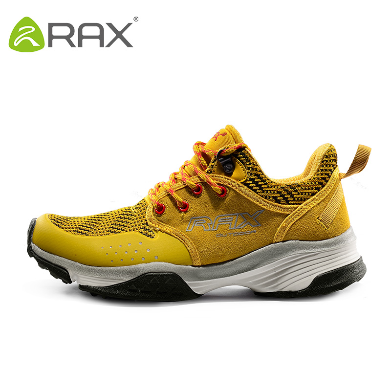 RAX Men's Damping Hiking Shoes Breathable Sports Montain Shoes Women Antiskid Cushioning Sneakers Climbing Shoes Footwear D0819