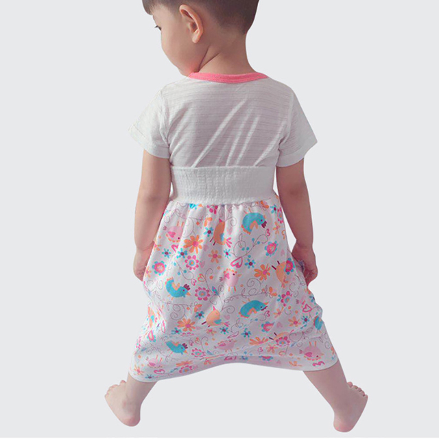 Waterproof Children Diaper Skirt Shorts