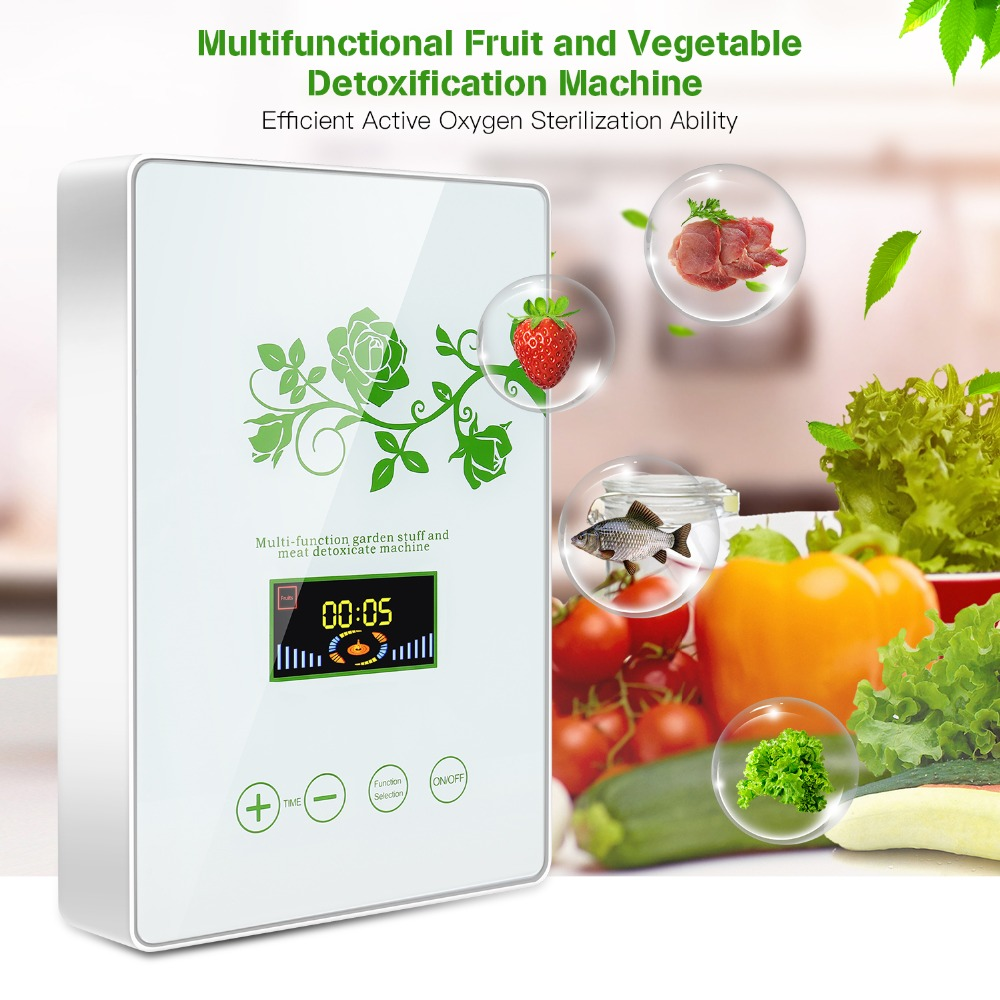 Multifunctional active ozone generator disinfector air purifier purifying fruits and vegetables water food preparation ozone gen