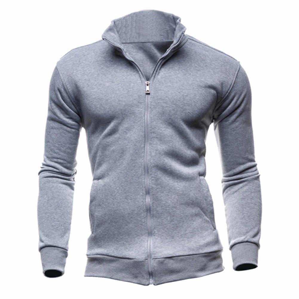 남자 서 칼라 자 켓 남자 카디 건 코트 포켓 자 켓 스웨터 후드 고품질 니트 스웨터