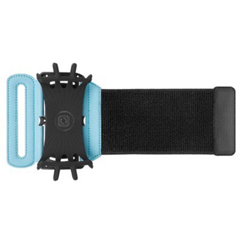 3.5-6 Inch Rotate Phone Protective Running Bag Outdoor Sports Arm Belt Strap Nylon Wrist Bag For Running Fitness Phone Holder