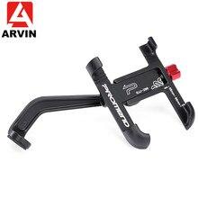 Arvin Aluminium Motorfiets Fiets Achteruitkijkspiegel Telefoon Houder Voor Iphone X 8P Universele Bike Stuur Stand Sansung S8 S9 mount