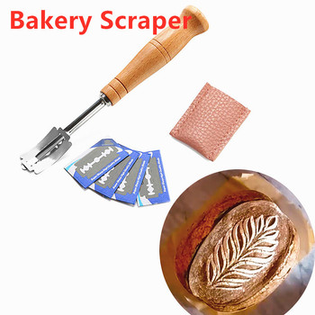 2020 New Kitchen Bread Lame Tools Bakery Scraper Bread Knife/Slicer/Cutter Dough Breads Scoring With Blades and Cover image
