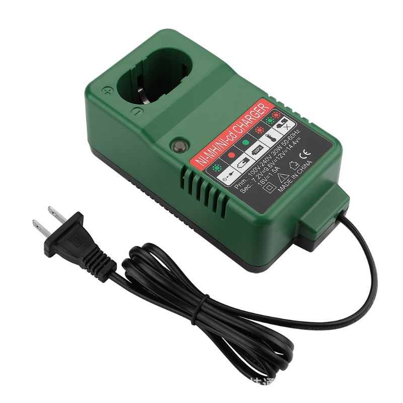 7.2V-18V <font><b>Battery</b></font> <font><b>Charger</b></font> Adapter for <font><b>Makita</b></font> 7.2V 9.6V <font><b>12V</b></font> 14.4V 18V NI-MH NI-CD E65A image