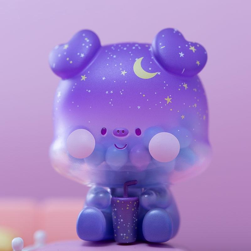 Cola Pig Blind Box Toys Caja Ciega Blind Bag Toys for Girls Anime Figures Cute Desktop Ornaments Model Birthday Gift home decor