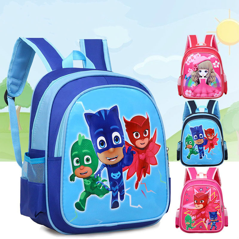PJ Masks Catboy Owlette Gekko new cartoon cute children's student Unisex bag backpack For kids Birthday Christmas Gifts 2B49