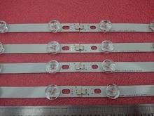 8 PCS Led hintergrundbeleuchtung streifen Für LG 39LN5700 39LN5757 39LA616V 39LA621V 39LA620S 39LN5400 39LN5300 39LN5100 Innotek POLA 2,0 39 zoll