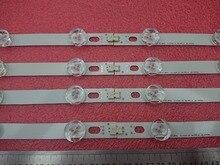Striscia di retroilluminazione a LED 8 pezzi per LG 39LN5700 39LN5757 39LA616V 39LA621V 39LA620S 39LN5400 39LN5300 39LN5100 Innotek POLA2.0 39 pollici