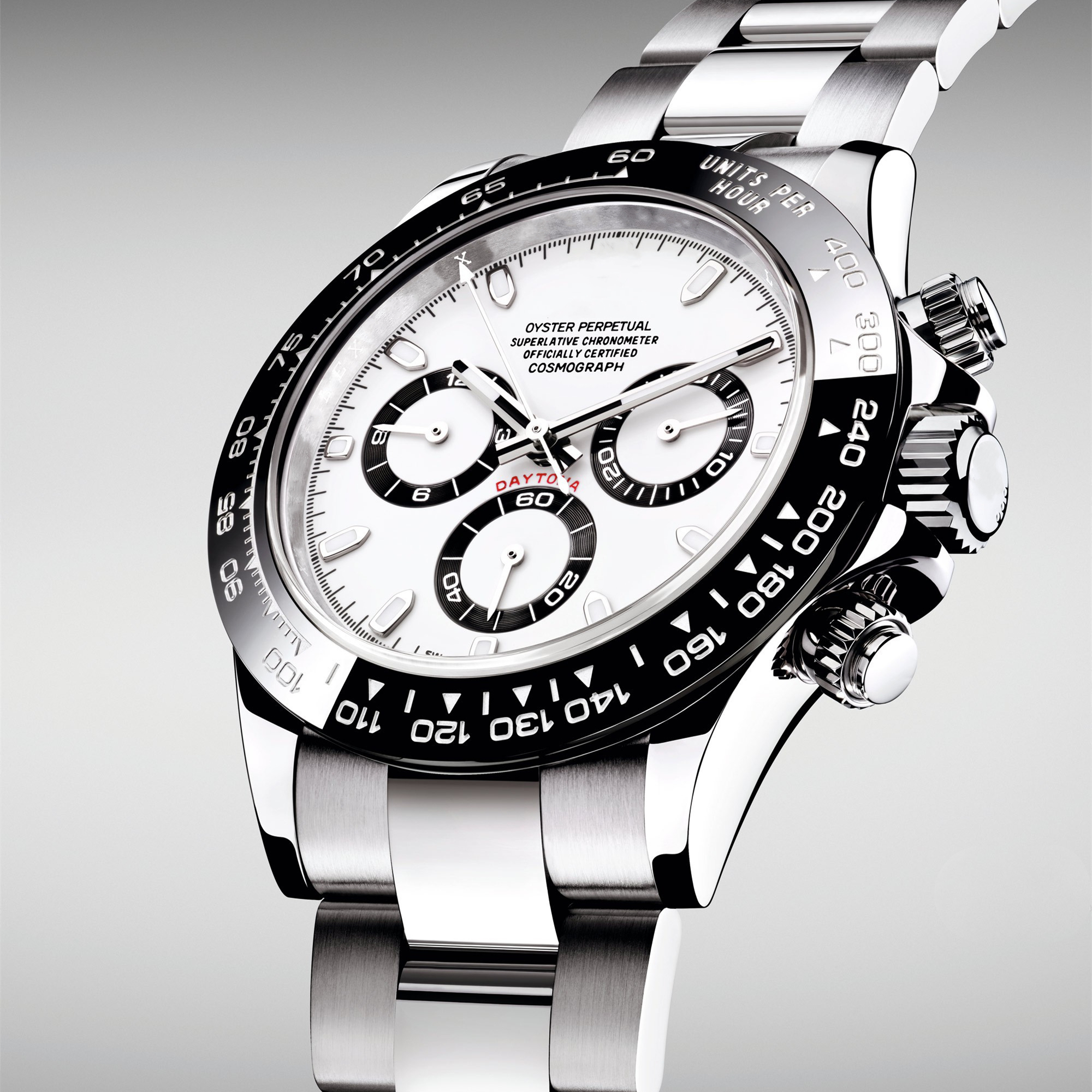 Мужские автоматические механические часы Топ 904L Daytona 116500 1:1 Noob нержавеющая сталь Сапфировая Керамическая рамка