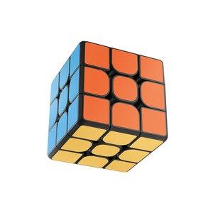 Image 4 - Nowa inteligentna kostka Xiaomi Mijia 3x3x3 6 czujnik osi kolor kwadratowa magiczna kostka Puzzle edukacja naukowa praca z aplikacją Mijia XMMF01JQD