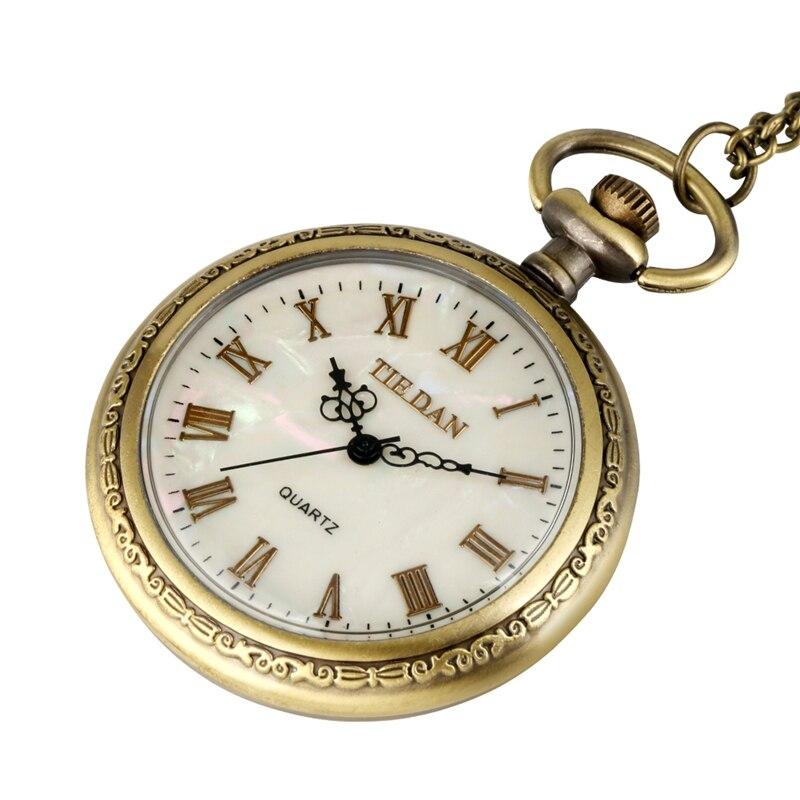 Купить чехол из античного прочного сплава кварцевые часы с циферблатом