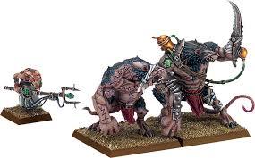 Skaven Rat Ogres And Tamer