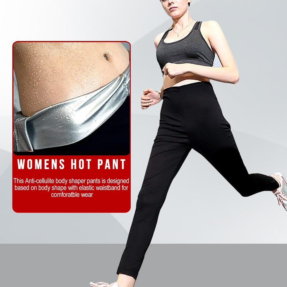 Neoprene Sauna Pants Women - Neoprene Weight Loss Thermo Shapers Hot Sweat Body Shaper Pants Fat Burner Workout Capris