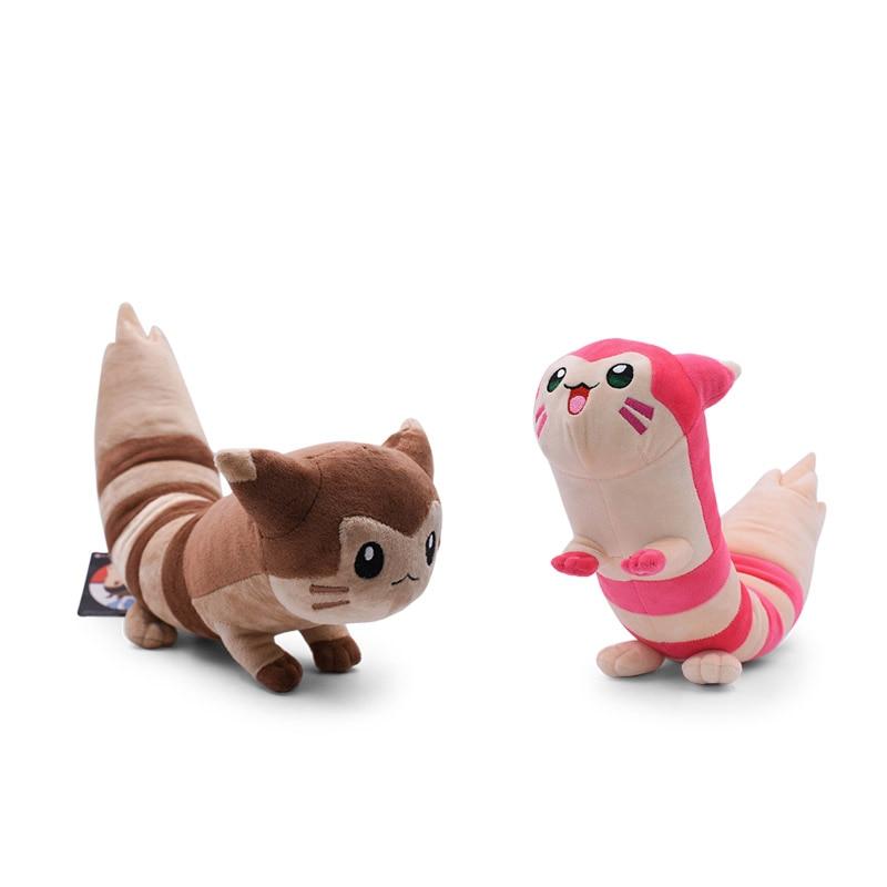 2 Styles Anime Sentret Furret Plush Stuffed Plush Cartoon Dolls Hot Christmas Gift Baby Toys For Children