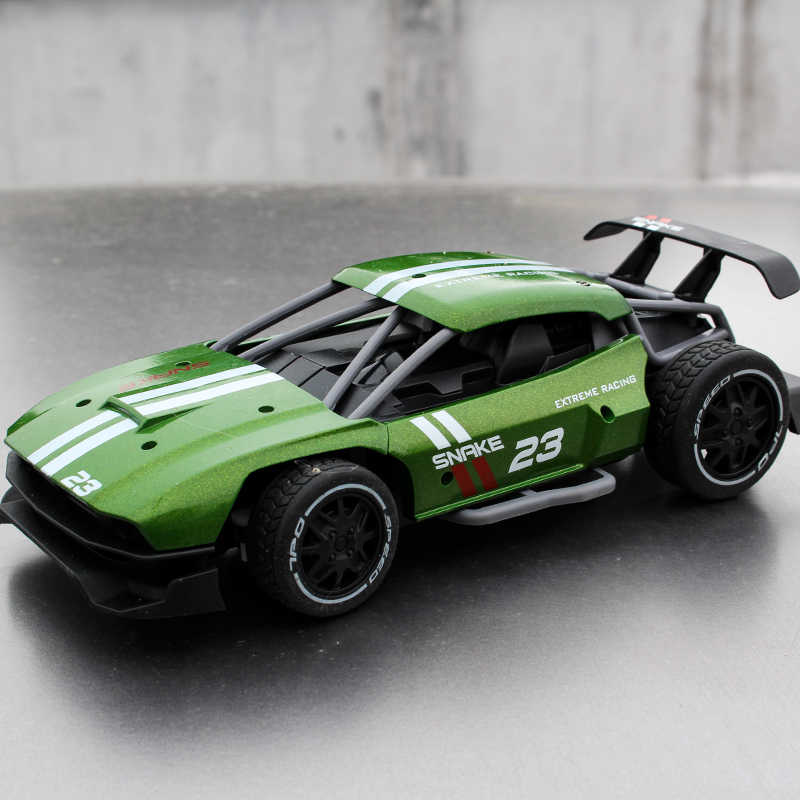 Remote Control Alloy Car RC Drift Car 2.4Ghz Rechargeable Updated 1:16 Electric