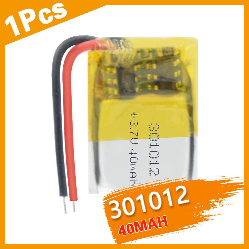 40mAh 3.7V 301012 litowo-polimerowa lipo akumulator do GPS MP3 MP4 PAD DVD DIY słuchawki z bluetooth głośnik do telefonu