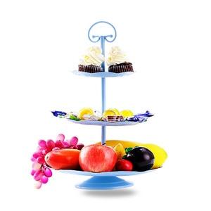Heißer verkauf 2 - 3 Tier kuchen stehen metall buffet dessert cupcake obst lebensmittel platter portion display halter Hochzeit Party liefert