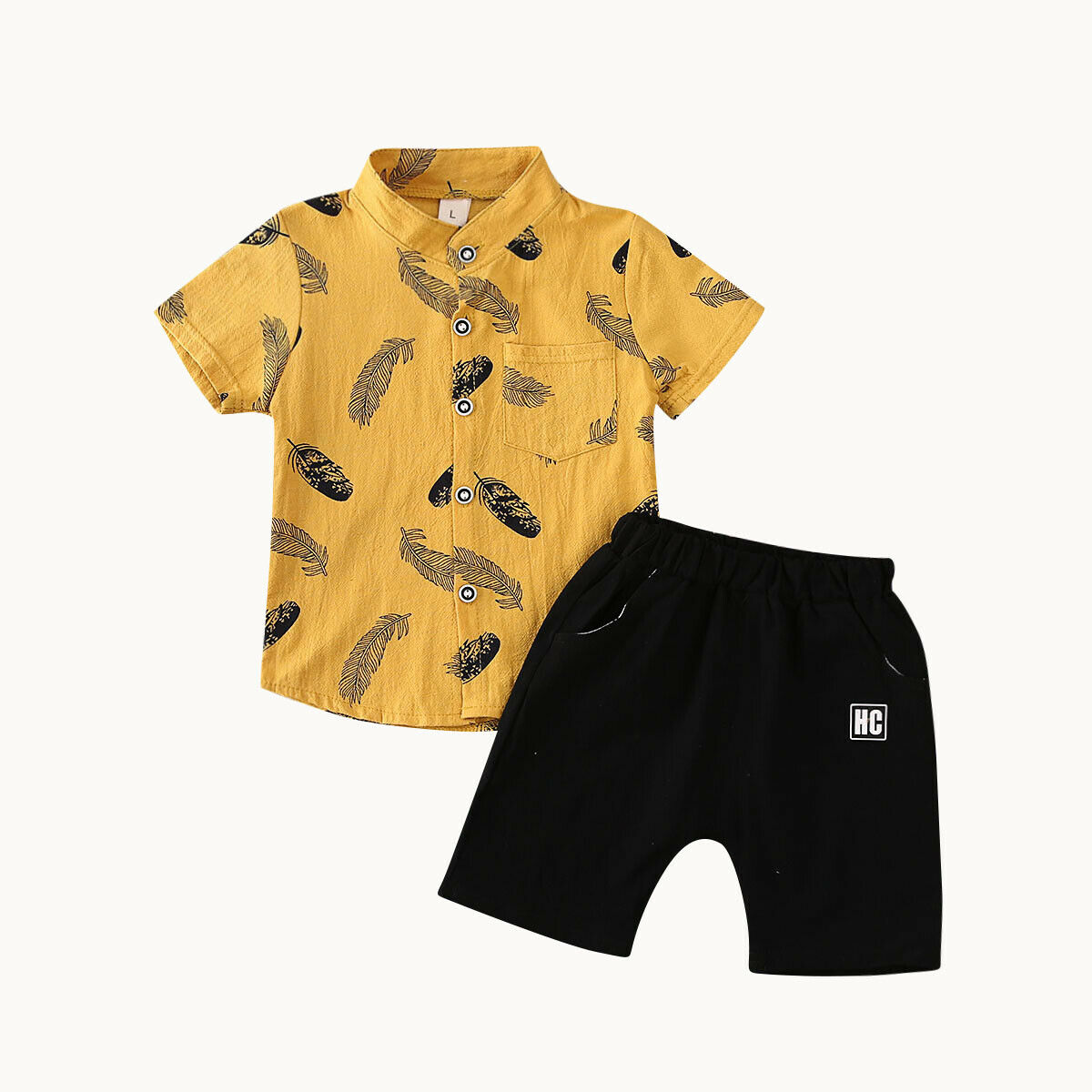 New Kids Baby Boy Gentleman Clothes Short Sleeve T Shirt Tops + Shorts Pants Outfit Set Casual Infant Clothing Set Boys Suit
