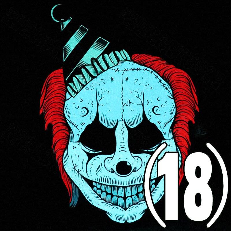 Voice Control Glowing Mask LED Halloween Bar KTV Festival Mask XRQ88