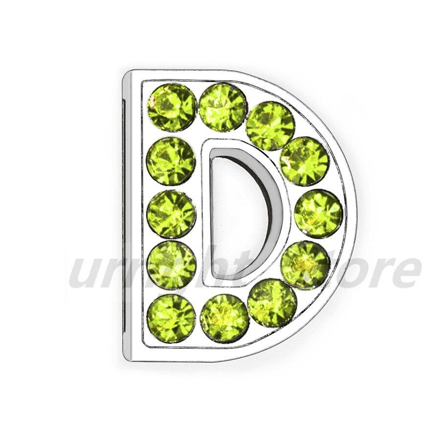 8mm-铬色橄榄色钻-字母穿戴-D_副本